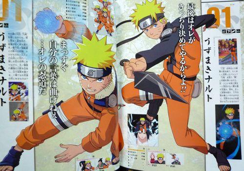 naruto 100 character masashi kishimoto artbook 9784088748252 ebay