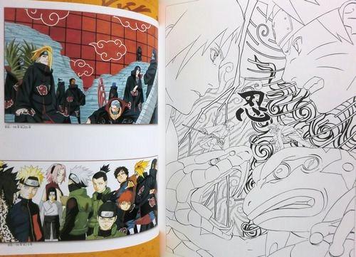 PAINT JUMP ART OF NARUTO / MASASHI KISHIMOTO | eBay